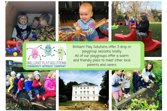 Playgroup leaflet