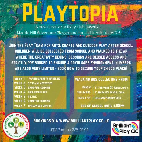 Playtopia info